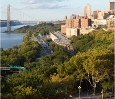 Scenic View from Riverside Park